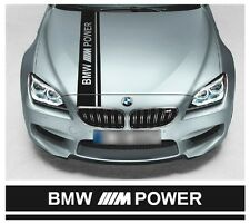 BMW M POWER COFANO STRIPE M5 M3 M2 M4 M6 X6 X5 Msport Performance VINILE Touring