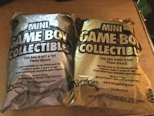 2 Mini Game Boy Collectibles - Burger King - Never Been Opened- Gameboy Nintendo