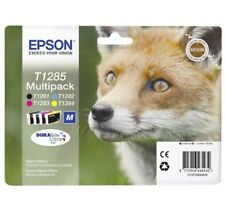 Genuine Epson T1285 Combo Pack Ink Cartridges for SX445w SX230 SX125 S22