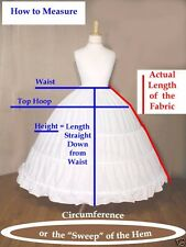 EXTRA FULL Victorian SCA Civil War Reenactor Hoop Skirt
