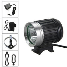 9000 lumens 3x CREE XM-L T6 LED Rechargeable Front bicycle Bike Light HeadLight