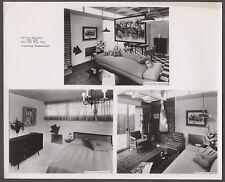 Vintage Photo Glassheat Heaters 1950s Home Interior Salt Lake City Utah 271248