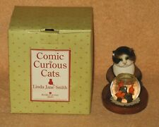 """Comic & Curious Cats """"Spoiled For Choice"""" Linda Jane Smith 2002 NEW"""