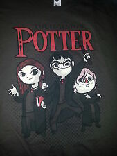 The Legend of Potter / Harry Potter Zelda Mashup Brown Tshirt Size XXL 2XL