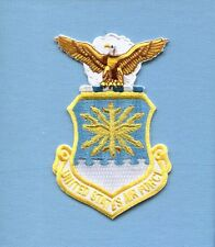 UNITED STATES AIR FORCE EAGLE & CREST INSIGNIA USAF Squadron jacket Patch