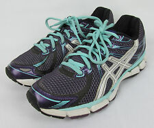 Womens Asics Gel GT 2000 running shoes jogging fitness – Purple – Size 8