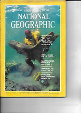 JULY 1985 NATIONAL GEOGRAPHIC-FEATURING 16TH CENTURY BASQUE WHALING IN AMERICA
