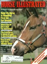 1989 Horse Illustrated Magazine: First Aid for Wounds/What Hay is Best/Winter
