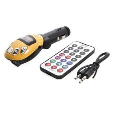 Car Kit MP3 Player Wireless FM Transmitter USB SD MMC Card Slot with Remote
