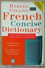HARPER COLLINS FRENCH CONCISE DICTIONARY ~ OVER 200,000 ENTRIES & TRANSLATIONS