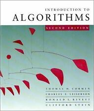 Introduction To Algorithms by Thomas H Cormen