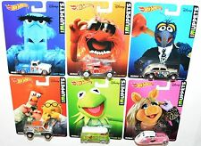 "Hot Wheels 2014 HW Disney The Muppets Complete Set ""MOC"""