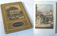 CANALETTO peintre de Varsovie / Mieczyslaw Wallis / Édition de 1954