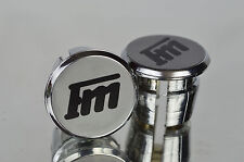 new Francesco Moser FM Handlebar End Plugs Bar End Caps endstopfen lenkerstopfen