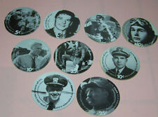THE PRESIDENTS  ( 9 ) AAFES Pogs Gift Certificate RARE