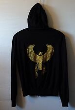 AMERICAN APPAREL fine hoodie Native Eagle unisex UK L 12 14 US M 10 12 EU 40 42