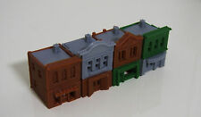 Outland Models Train Railway Shop / Store Front Building x4 (Style B) Z Scale