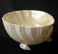 BELLEEK NEPTUNE Shell Cereal/Slop Bowl 6th Grn Mk