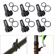 New 1 Set Fishing Rod Pole Hook Keeper Lure Spoon Bait Holder Tackle Accessories