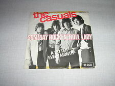 THE CASUALS 45 TOURS BELGIQUE A LETTER EVERY MONTH