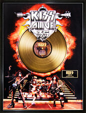 "KISS ""ALIVE 35"" GOLDENE SCHALLPLATTE LIMITED EDITION"