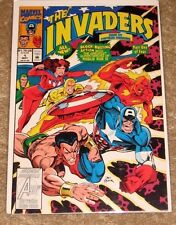 MARVEL #21 THE INVADERS PART 1 OF 4 HIGH GRADE FREE BAGGED & BOARD