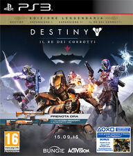 Destiny Il Re Dei Corrotti D1 Day One Edition PS3 Playstation 3 IT IMPORT