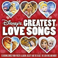 DISNEY'S GREATEST LOVE SONGS: A WHOLE NEW WORLD CD NEW RELEASE JANUARY 2016