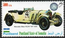 1928 MERECEDES-BENZ SS 38/250 Sports / Race Car Automobile Stamp