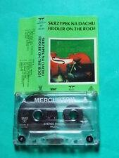 ►Rare Polish cassette Fiddler on the Roof SOUNDTRACK Sholem Aleichem Arnold Perl