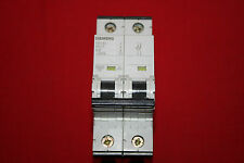 NEW Siemens Circuit Breaker Protector 5SY4202-7  400V 2A 2P  ***BRAND NEW ***