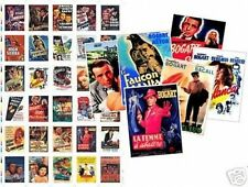 Humphrey Bogart Film Poster Trading Card Set