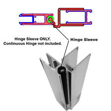 """Hinge Sleeve for Shower Doors with Continuous Hinge - 66"""" Long"""