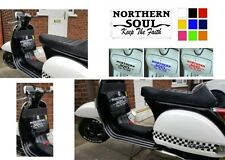 Northern Soul Sticker Scooter Toolbox Scooter Side panel Lambretta Vespa Sticker