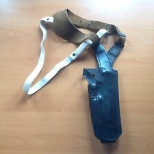Modern, British-Made, Price Western Leather Shoulder Holster for Beretta Pistol