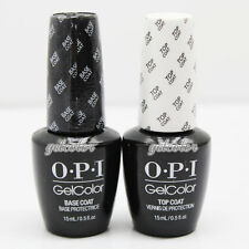 OPI Gelcolor Soak off Gel Base & Top Coat 0.5 oz / 15 ml each Duo Set GC 010 030