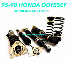 95-98 Honda Odyssey RA1 BC RACING Adjustable Coilovers JDM 5x114.3 Lowered NEW!