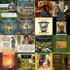 Anthony Trollope 19 Volume Audiobook Collection 2 x mp3 DVD