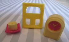 Barbie Bedroom Living Room Acc Lot 1:6 Diorama Candle Picture Frame Mantle Clock