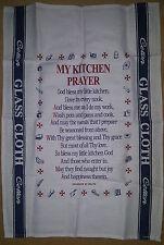 Mi oración-algodón toalla de cocina Malta Paño De Cristal Recuerdo-Nueva/sin Usar
