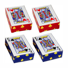 TWO DOUBLE DECKS MINI PLAYING CARDS
