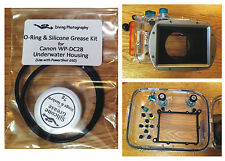 O-ring & Silicone Grease Kit for Canon WP-DC28 Diving Underwater Housing Case