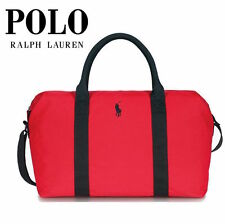 RALPH LAUREN FRAGRANCES POLO RED DUFFLE WEEKEND GYM SPORTS TRAVEL MEN'S BAG NEW