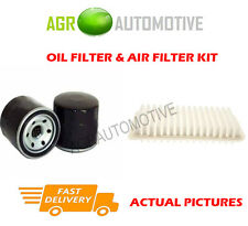 PETROL SERVICE KIT OIL AIR FILTER FOR VAUXHALL AGILA 1.2 94 BHP 2010-