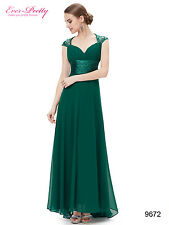 Ever Pretty Long Formal Evening Gown Bridesmaid Prom Dress Wedding Party 09672
