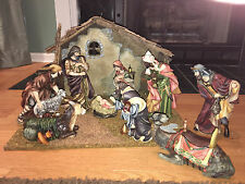 2001 Coll Edition Grandeur Noel  Nativity Set  Manger Creche