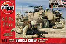 Airfix A03702 British Forces Vehicle Crew 1:48 Scale Kit