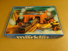 MARKLIN HO 7288 / LOCOMOTIVE SHED BUILDING KIT ASSEMBLED