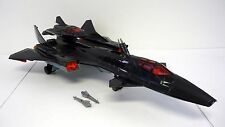 GI JOE COBRA NIGHT RAVEN Vintage Action Figure Vehicle Jet COMPLETE 1986