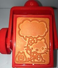 1976 Sanrio Hello Kitty My Melody L.Twin Stars Tiny Poem Rotatable Stamp Japan
